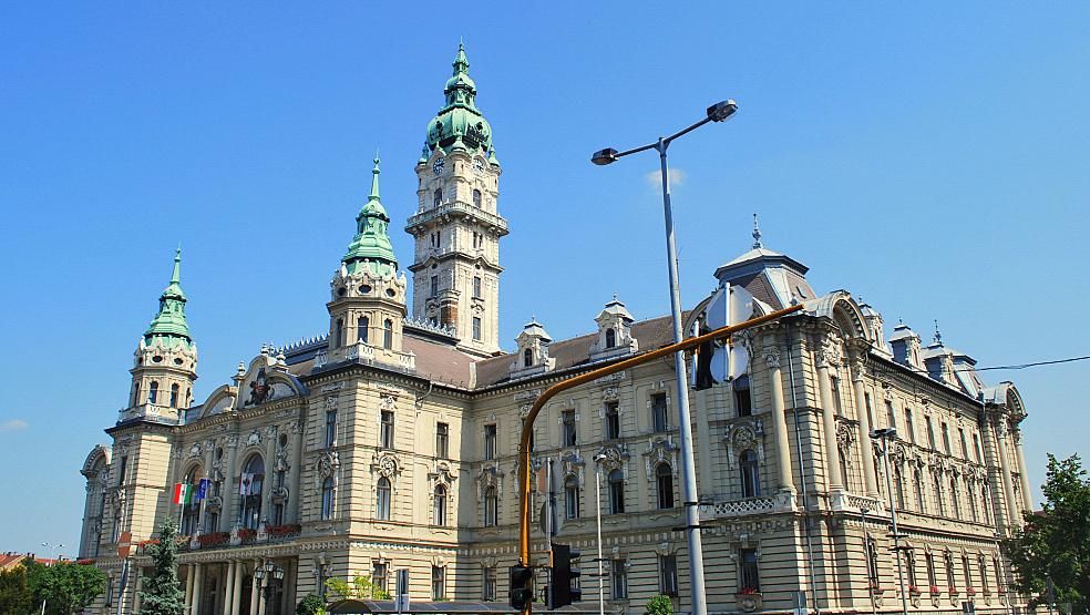 stadhuis Györ