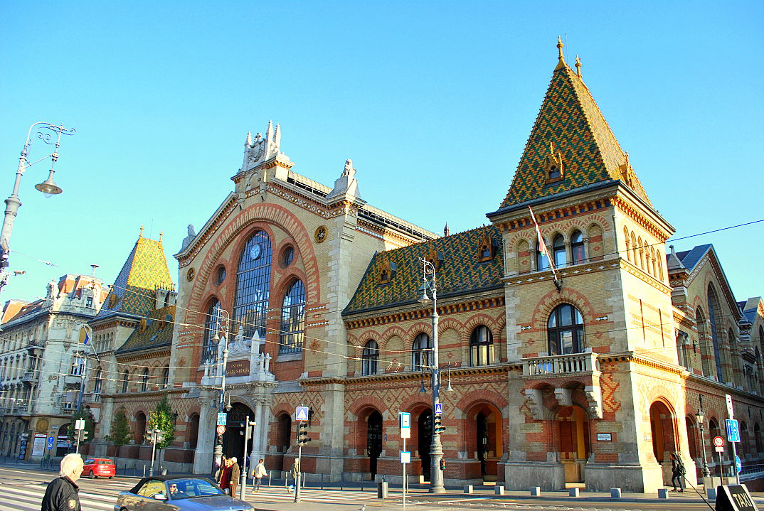 boedapest hongarije markthal