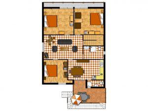Apartment- 6+2